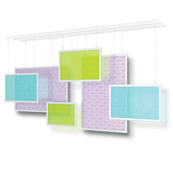 Universal Ceiling Tracks Grid Divider Universal Track Sets Hanging Displays