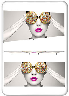 Vector Frame Rectangle 07 Fabric Banner And Backwall Displays Product