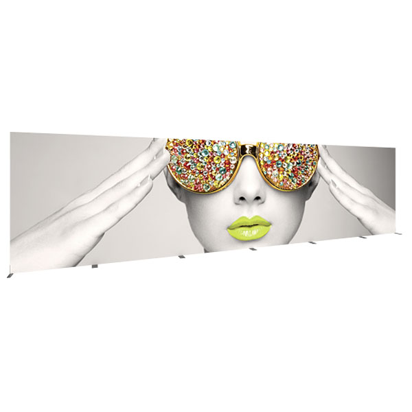 Vector Frame Rectangle 08 Fabric Backwall Displays