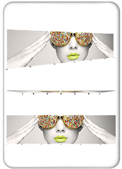 Vector Frame Rectangle 08 Fabric Banner And Backwall Displays Product