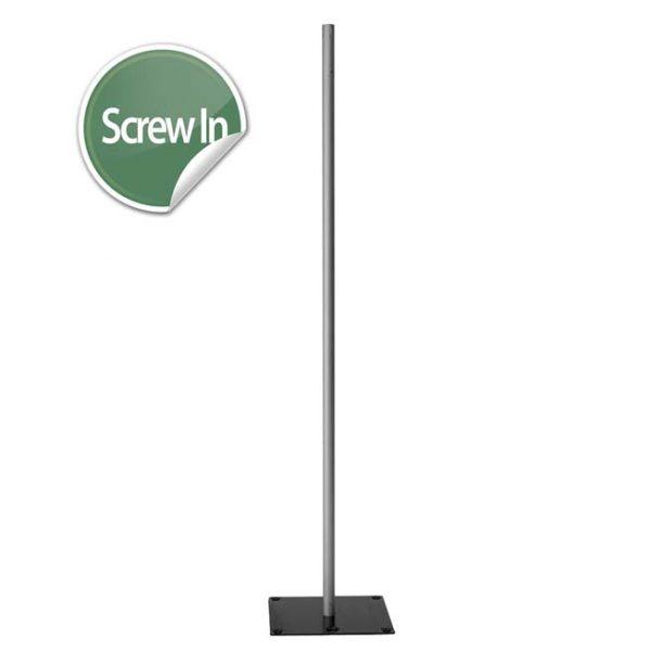 6′ Screw-In Upright