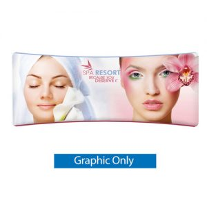 EZ Tube 20FT Curved Graphic Only