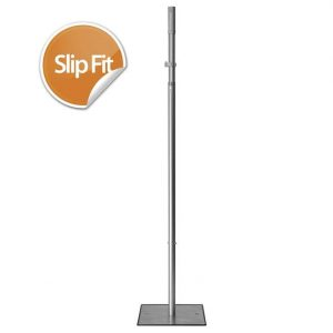 7′-12′ Telescoping Upright – Slip Fit
