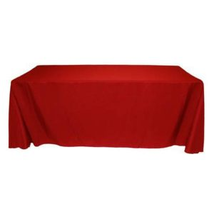 Blank Poly Poplin Standard Table Throws