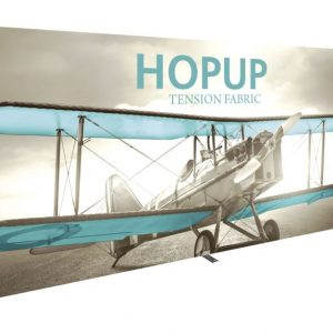 HopUp 15ft Full Height Tension Fabric Display - Graphic Only