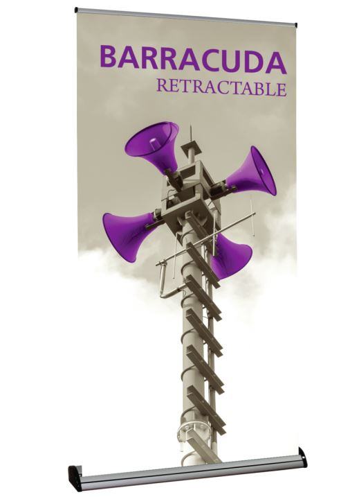 Barracuda 1200 Retractable Banner Stand - Graphic Only