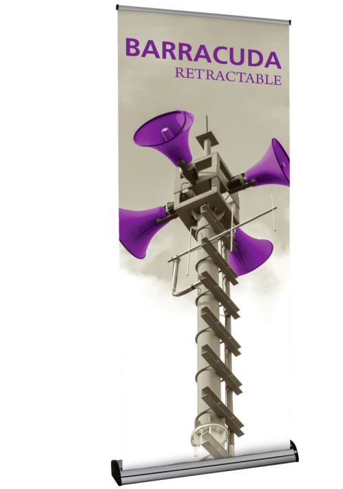Barracuda 850 Retractable Banner Stand - Graphic Only