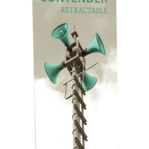 Contender Mega Retractable Banner Stand Replacement Graphic