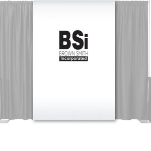 1 Color Single Maxi-Print Backdrop