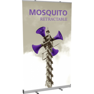 Mosquito 1200 Retractable Banner Stand - Graphic Only