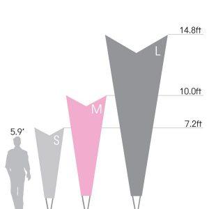 Bowflag® Premium Arrow - Graphic Only