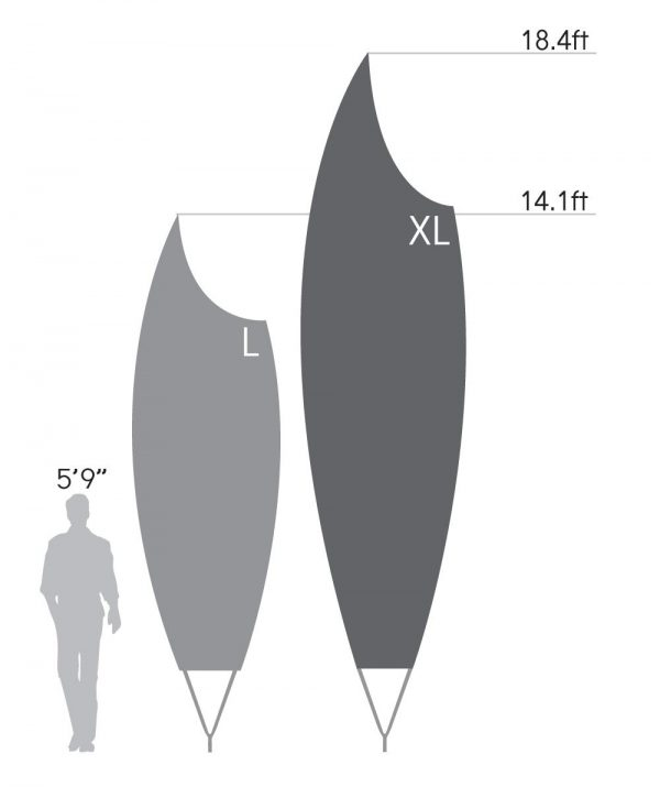 Bowflag® Premium Scoop - Graphic Only