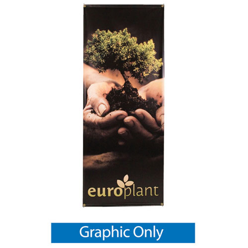 Zeppy Outdoor Banner Stand - Graphic Only