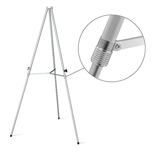 Aluminum Flip Chart And Display Easel Presentation Tools Clutch Close Up