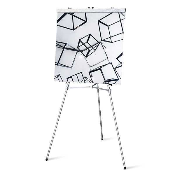 Aluminum Flip Chart Easel Presentation Tools Lightweight Aluminum Alloy Construction Display