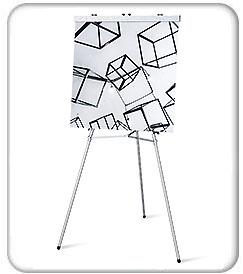 Aluminum Flip Chart Easel