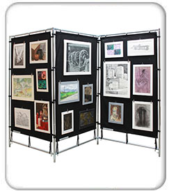 Art Presentation Displays
