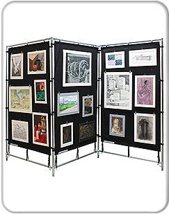 Art Presentation Displays
