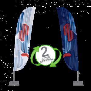 Bowflag® Basic Convex Flag Banner