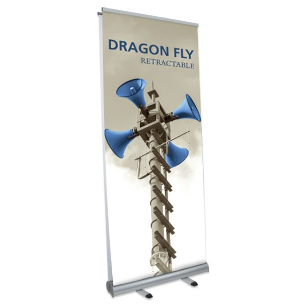 Dragon Fly Retractable Banner Stand (Double Sided) - Graphic Only