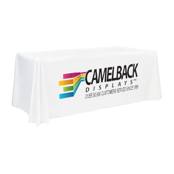Wyndham Standard Front Printed Table Throw Cover