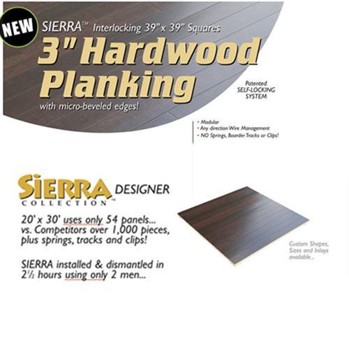 "Sierra Hardwood 3"" Planking Group II"