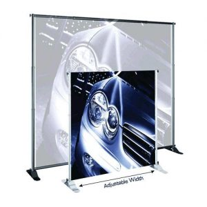 JUMBO Adjustable Banner Stands - Graphic Only