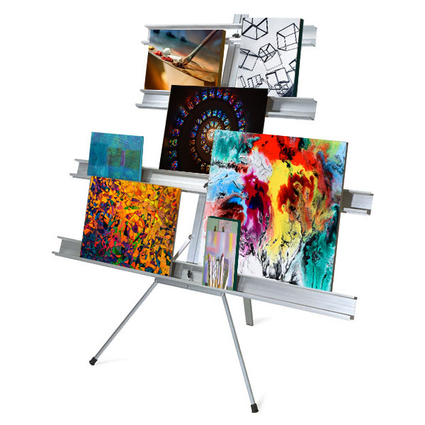 Gallery & Exhibit Wall Stands Graphics And Painting Displays