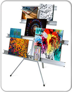 Gallery And Exhibit Wall Stands