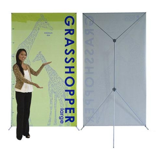 Grasshopper X-Style Banner Stand - Large