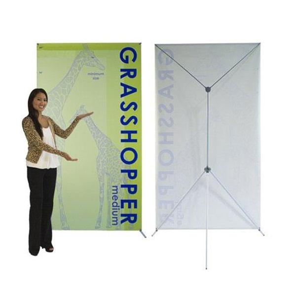 Grasshopper X-Banner Stand - Medium