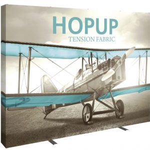 HopUp Display 10ft Full Height Tension Fabric Display -Graphic Only
