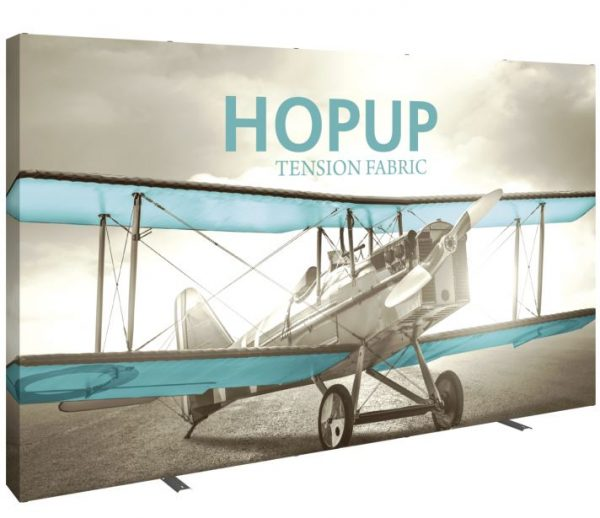 HopUp Display 13ft Full Height Tension Fabric Display - Graphic Only