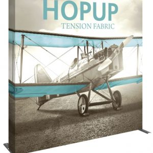 HopUp Display 7.5ft Full Height Tension Fabric Display - Graphic Only