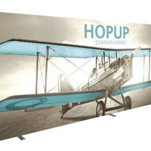 HopUp 20ft Full Height Tension Fabric Display - Graphic Only