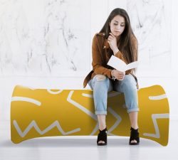 Inflatable Air Bench Graphic Only