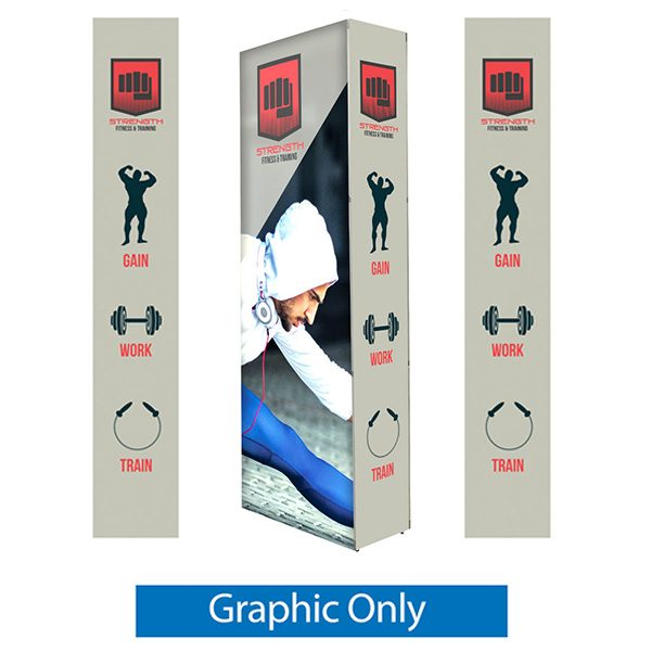 Lumiere Light Wall 2.5ft x 7.5ft Graphics