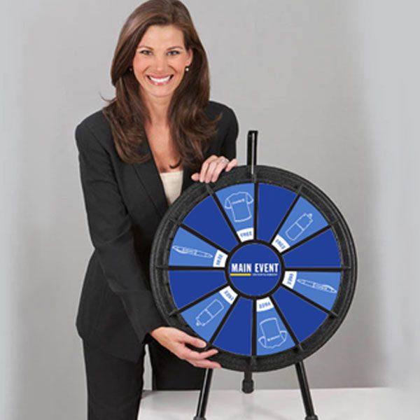 Main Event 12 Slot Mini Table Top Prize Wheel