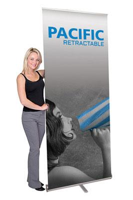 Pacific Banner Stands - Graphic Only