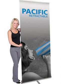 Pacific Banner Stands - Hardware Only