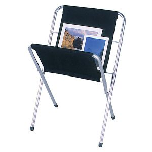 Print Racks Presentation Tools, Graphics, Posters And Paintings Display Aluminum Legs