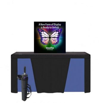 "Showflex Tabletop Display A Series 28""W x 28""H"