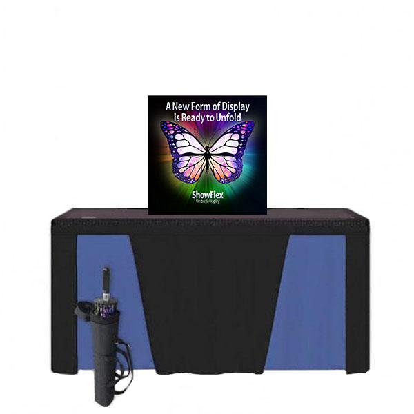 "Showflex Tabletop Display B Series 38""W x 38""H"