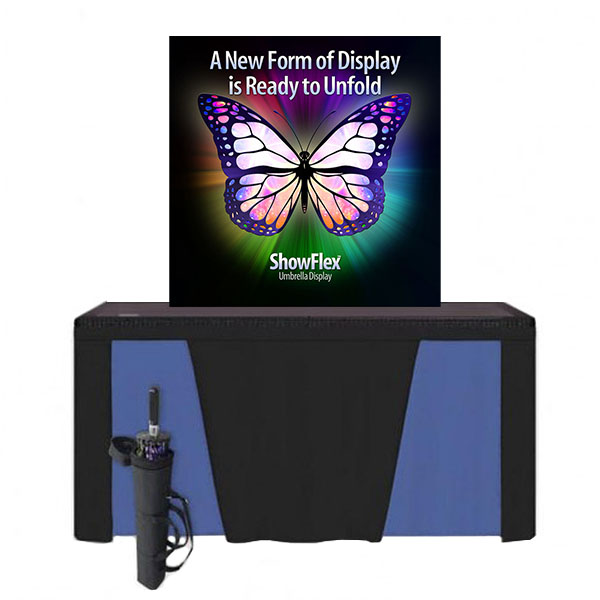 "Showflex Tabletop Display C Series 48""W x 48""H"
