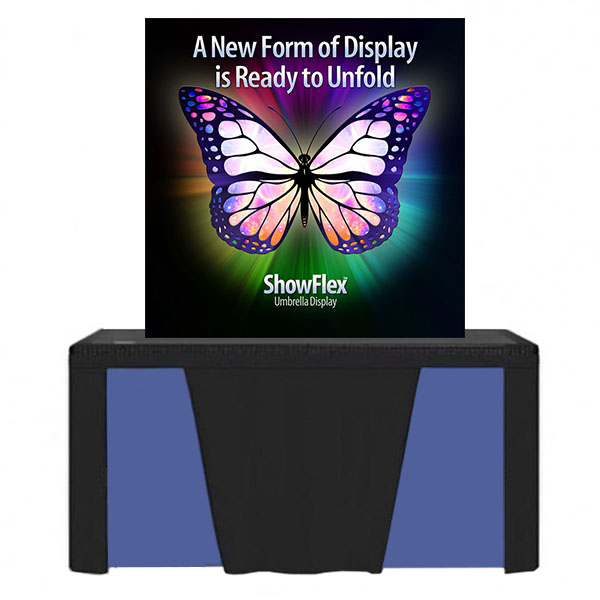 "Showflex Tabletop Display D Series 52""W x 52""H"