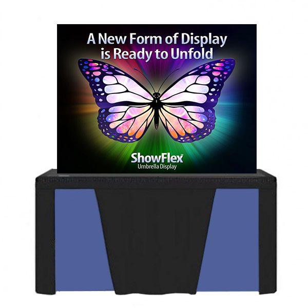 "Showflex Tabletop Display D Series 60""W x 40""H"