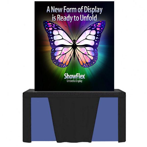 "Showflex Tabletop Display E Series 46""W x 70""H"