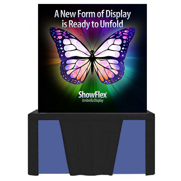 "Showflex Tabletop Display E Series 60""W x 60""H"