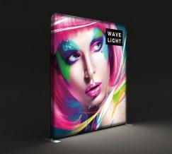 WaveLight® LED Backlit 8ft Graphic