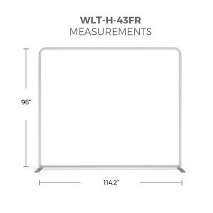 WaveLight® LED Backlit Display 10ft Hardware Only